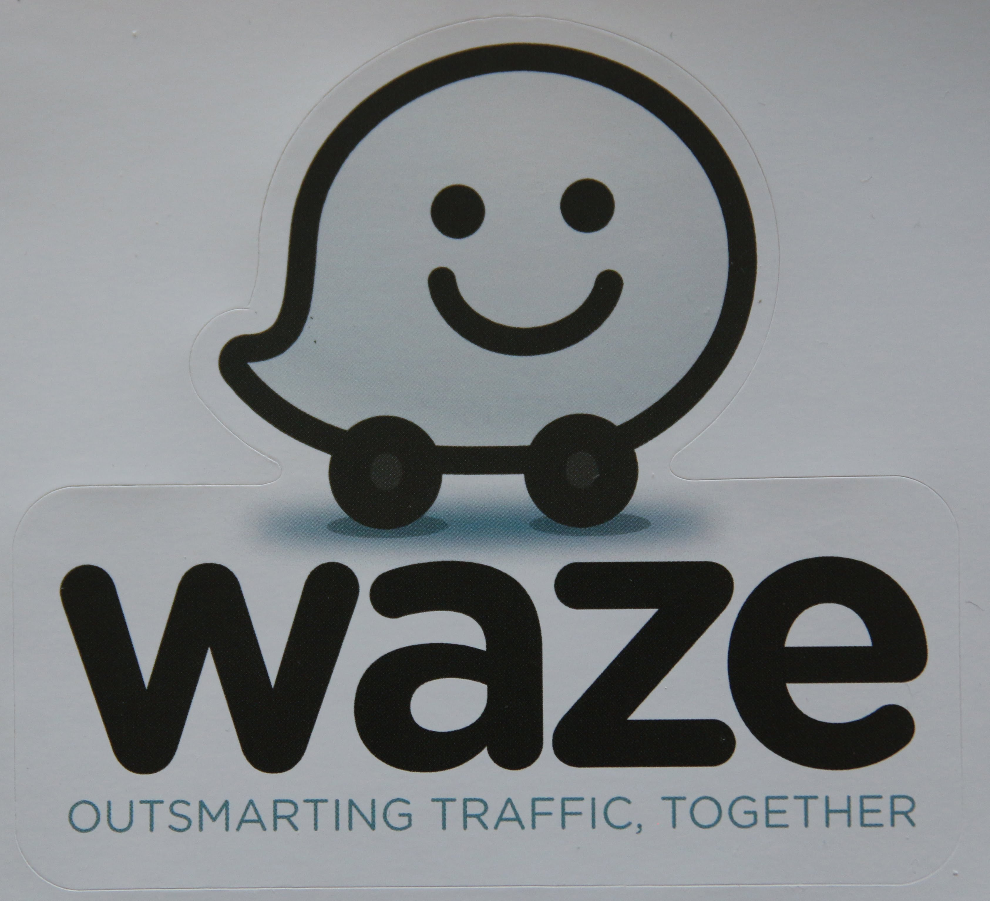 waze sticker waze belgium. Black Bedroom Furniture Sets. Home Design Ideas