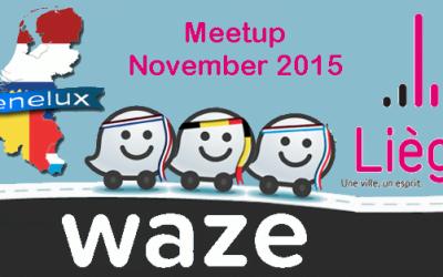 Waze Benelux Meetup in Liège 7 November 2015