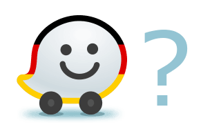 Avatar of the German Waze Community with a question mark